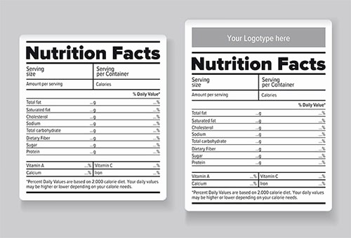 Nutrition Facts Template Excel Download Beautiful Nutrition Label Template Excel