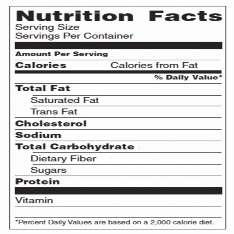 Nutrition Facts Template Excel Download Lovely Blank Nutrition Label Template Word