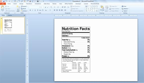 Nutrition Facts Template Excel Download Unique How to Make A Nutrition Facts Label for Free for Your