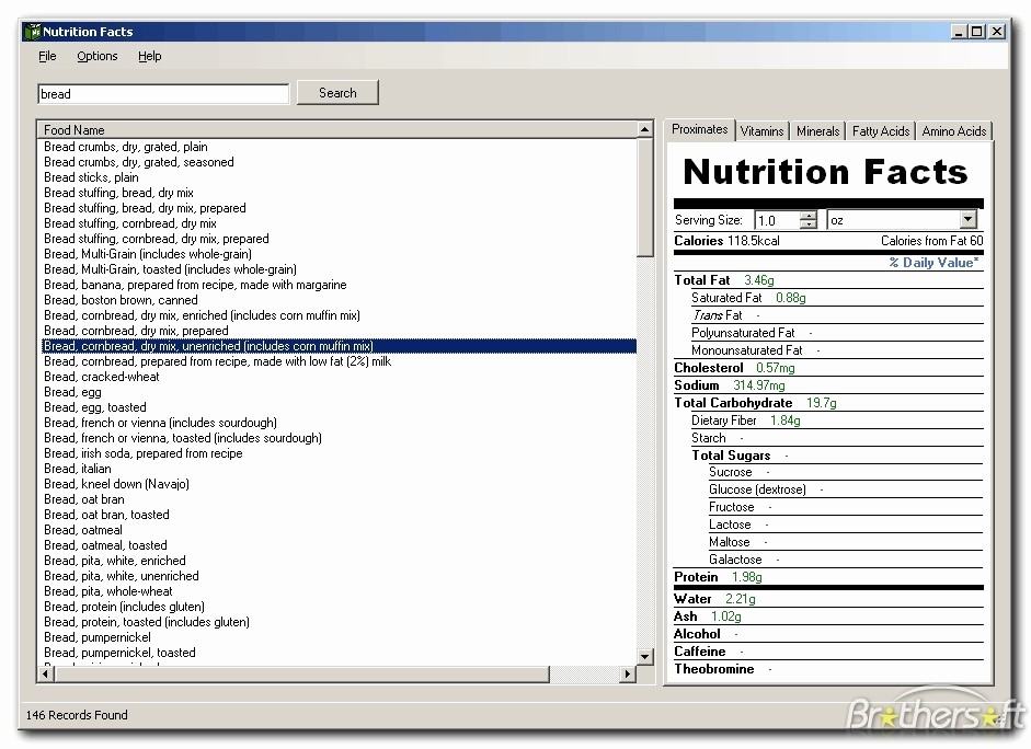 Nutrition Facts Template Excel Download Unique Nutrition Facts Template