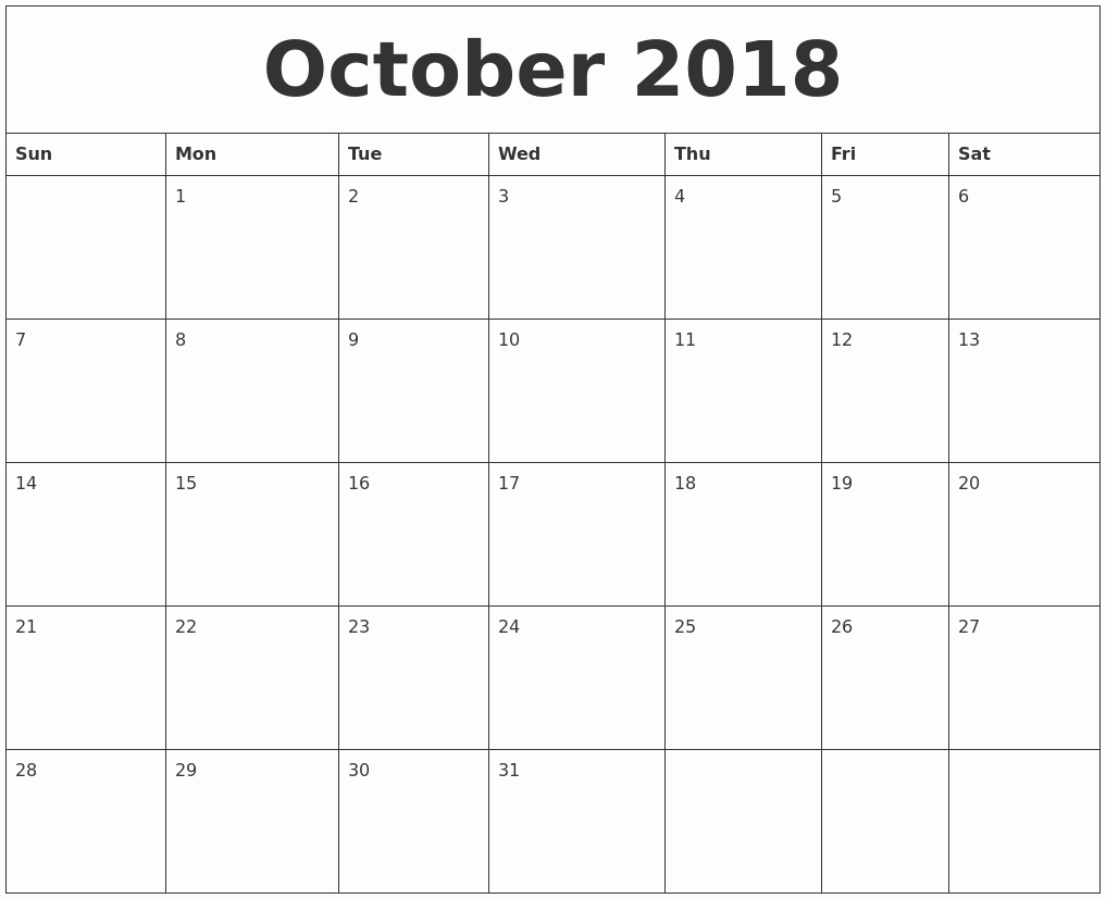 October 2018 Printable Calendar Word Elegant February 2019 Create Calendar