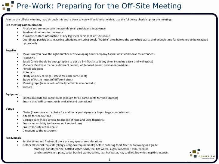Off Site Meeting Agenda Template Lovely F Site Meeting Agenda Template Template Design