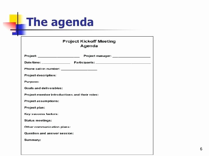 Off Site Meeting Agenda Template Luxury Kick F Meeting Agenda Template Design Sample Project