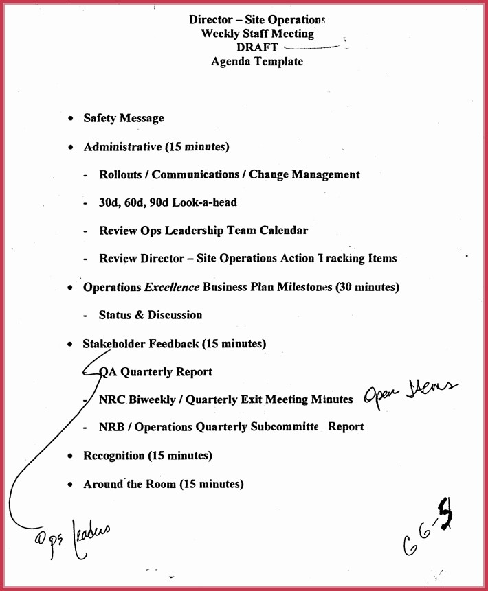 Off Site Meeting Agenda Template Unique F Site Meeting Agenda Template Template Design