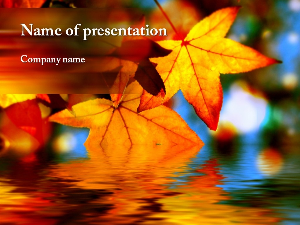 Office 2013 Background theme Download Best Of Autumn Leaves Powerpoint Template for Impressive