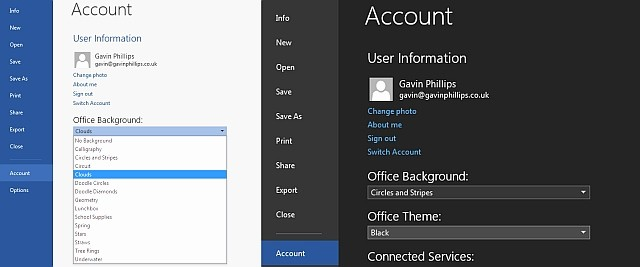Office 2013 Background theme Download Fresh A Microsoft Fice 2016 Preview Smart & Subtle Changes