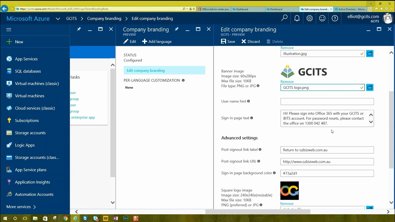 Office 365 Email Login Portal Elegant How to Add Branding to the Fice 365 Login Screen
