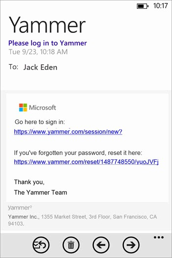 Office 365 Email Sign Up Best Of Staying Connected with Your Network On Your Windows Phone