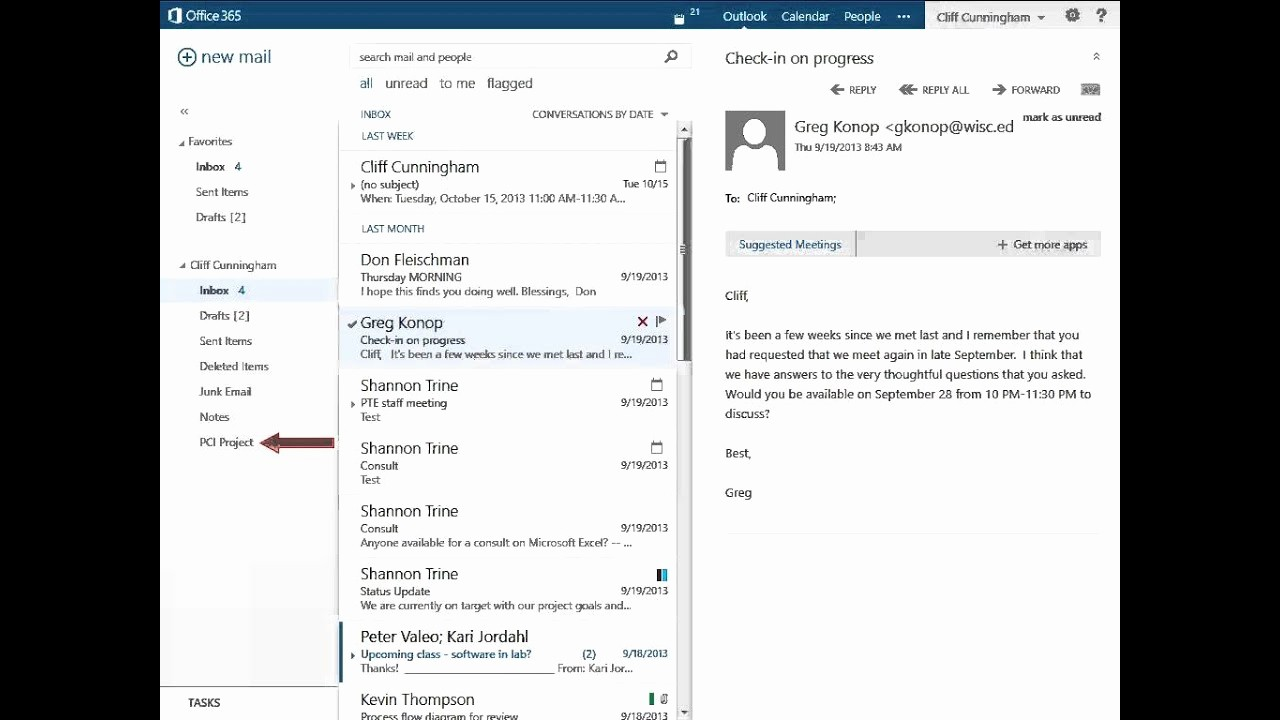 Office 365 Email Sign Up Fresh Folders Fice 365 Outlook Web App Email