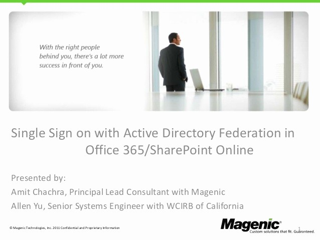 Office 365 Online Sign In Fresh Fice 365 Single Sign On with Adfs