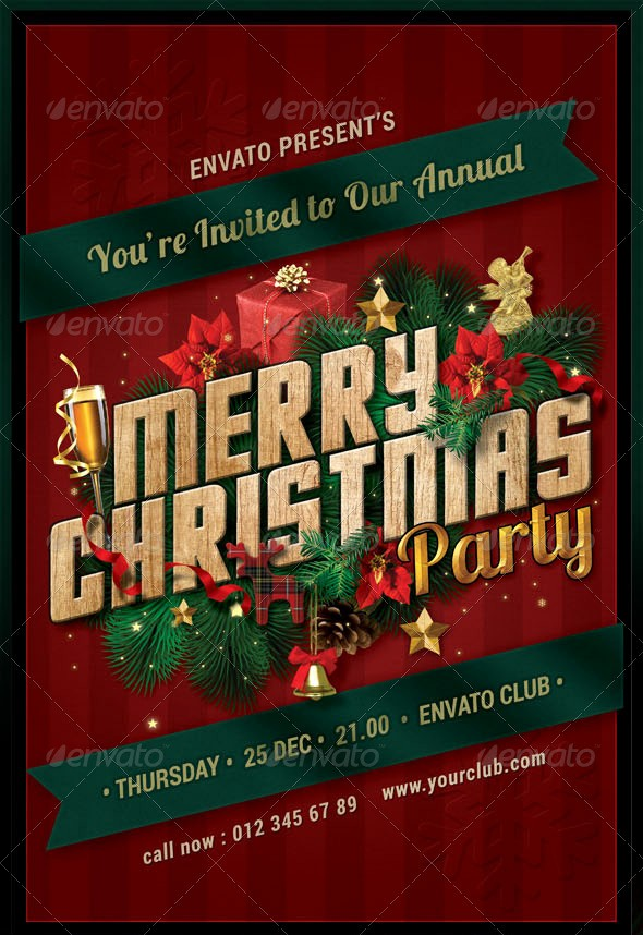 Office Christmas Party Flyer Templates Awesome 8 Best Of Make A Christmas Party Flyer Free