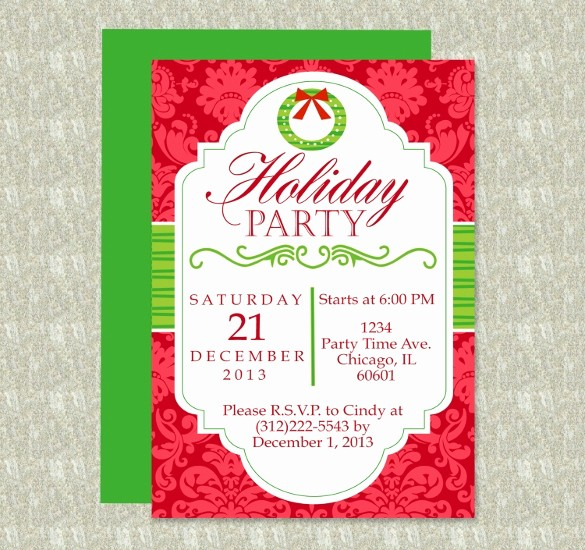 Office Christmas Party Flyer Templates Elegant 19 Free Download Holiday Templates Word