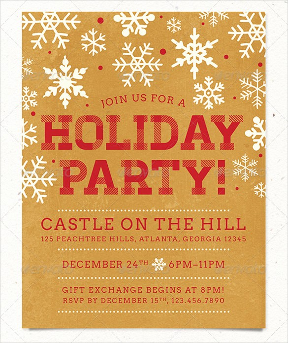 Office Christmas Party Flyer Templates Elegant Amazing Holiday Party Flyer Templates 21 Download