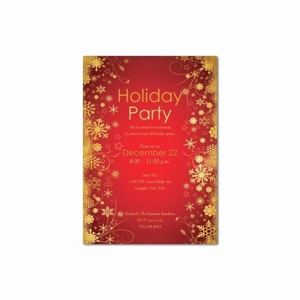 Office Christmas Party Flyer Templates Fresh Fice Christmas Party Flyer Templates Invitation Template