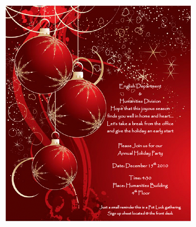 Office Christmas Party Flyer Templates Luxury 7 Best Of Holiday Fice Party Flyer Holiday