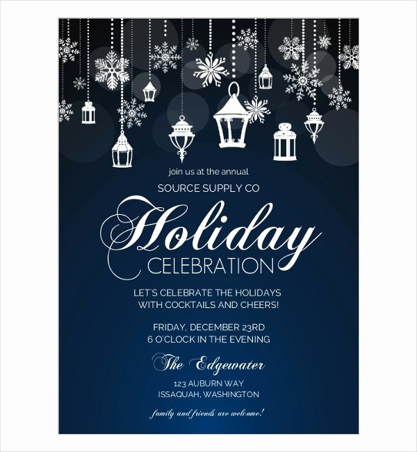 Office Christmas Party Flyer Templates Luxury Party Flyer Designs 60 Free Psd Vector Ai Eps format