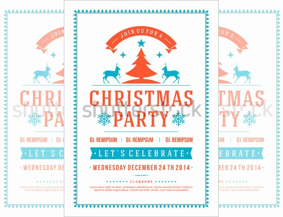 Office Christmas Party Flyer Templates New 27 Holiday Party Flyer Templates Psd