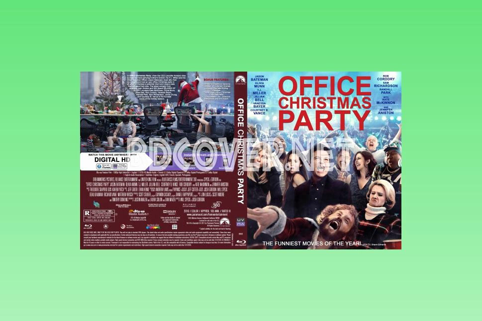 Office Christmas Party Free Download Awesome Blu Ray Covers Dvd Covers Blu Ray Labels