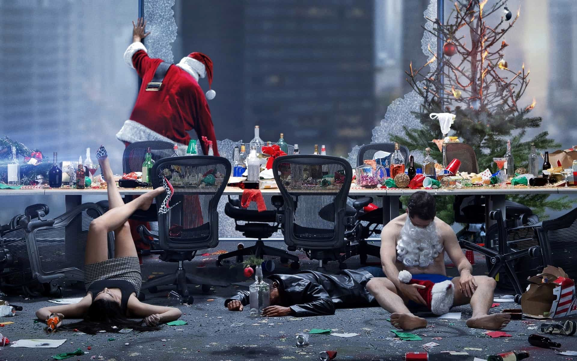 Office Christmas Party Free Download Best Of Fice Christmas Party Movie Wallpapers