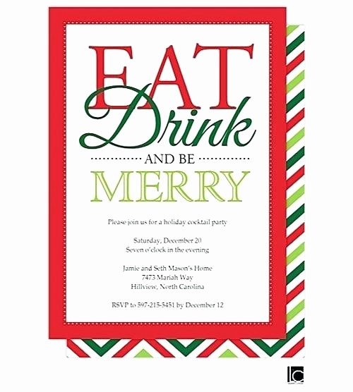Office Christmas Party Free Download Best Of Potluck Invitation Template Thanksgiving Turkey Dinner