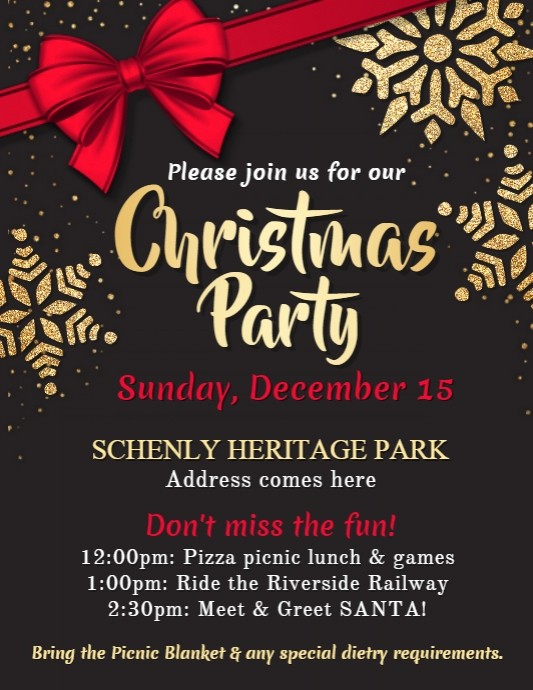 Office Christmas Party Free Download Elegant Copy Of Christmas Party Flyer Template