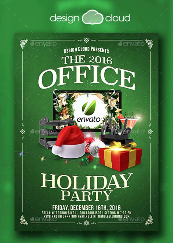 Office Christmas Party Free Download New 40 Holiday Design Templates
