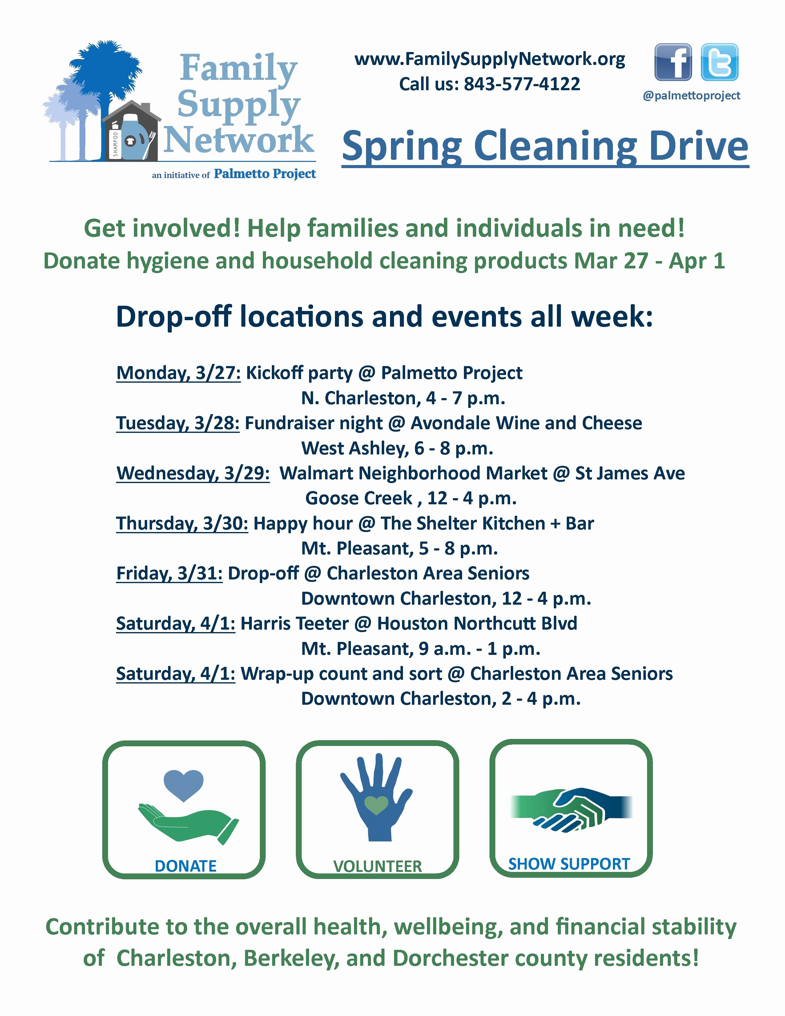 Office Clean Up Day Flyer Elegant Announcing Our First Annual Spring Cleaning Drive Mar 27