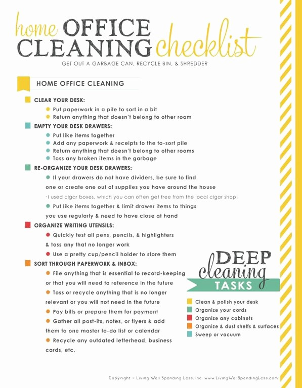 Office Clean Up Day Flyer New How to organize Your Fice Lwsz Day 11