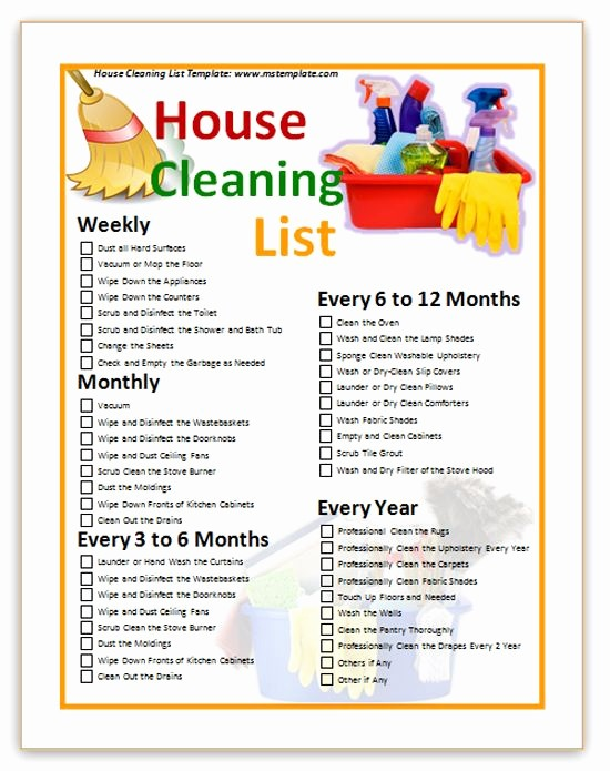 Office Clean Up Day Flyer Unique 88 Best House Kitchen Bathroom Rules Images On Pinterest