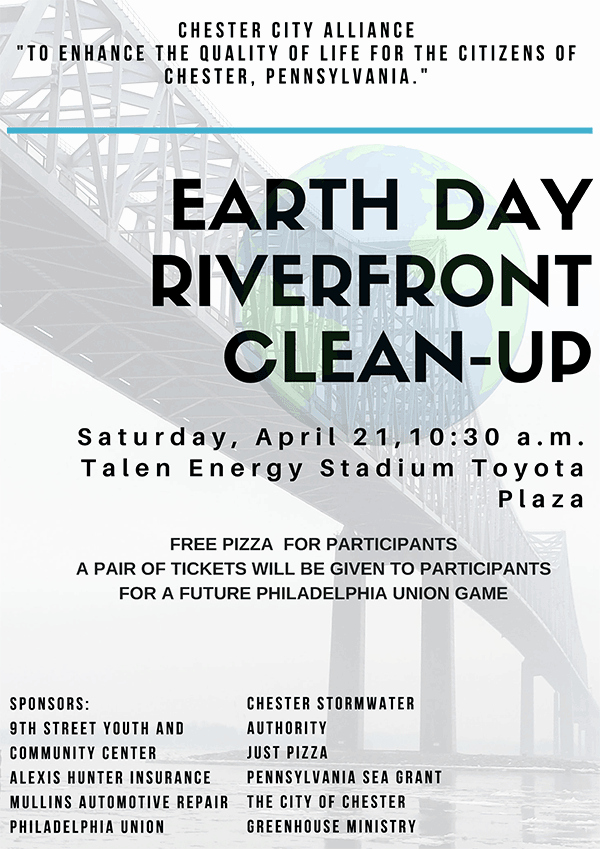 Office Clean Up Day Flyer Unique Earth Day Riverfront Clean Up