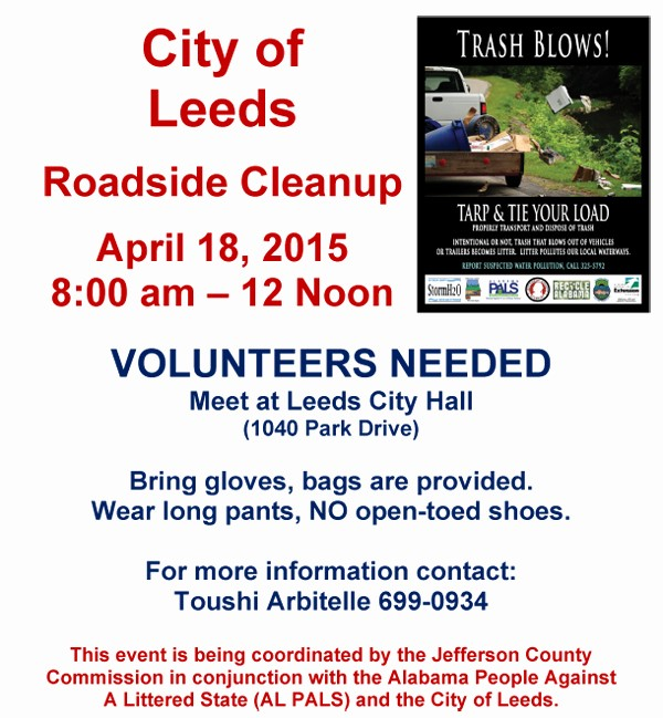 Office Clean Up Day Flyer Unique Leeds Roadside Cleanup Day Leeds area Chamber Of Merce