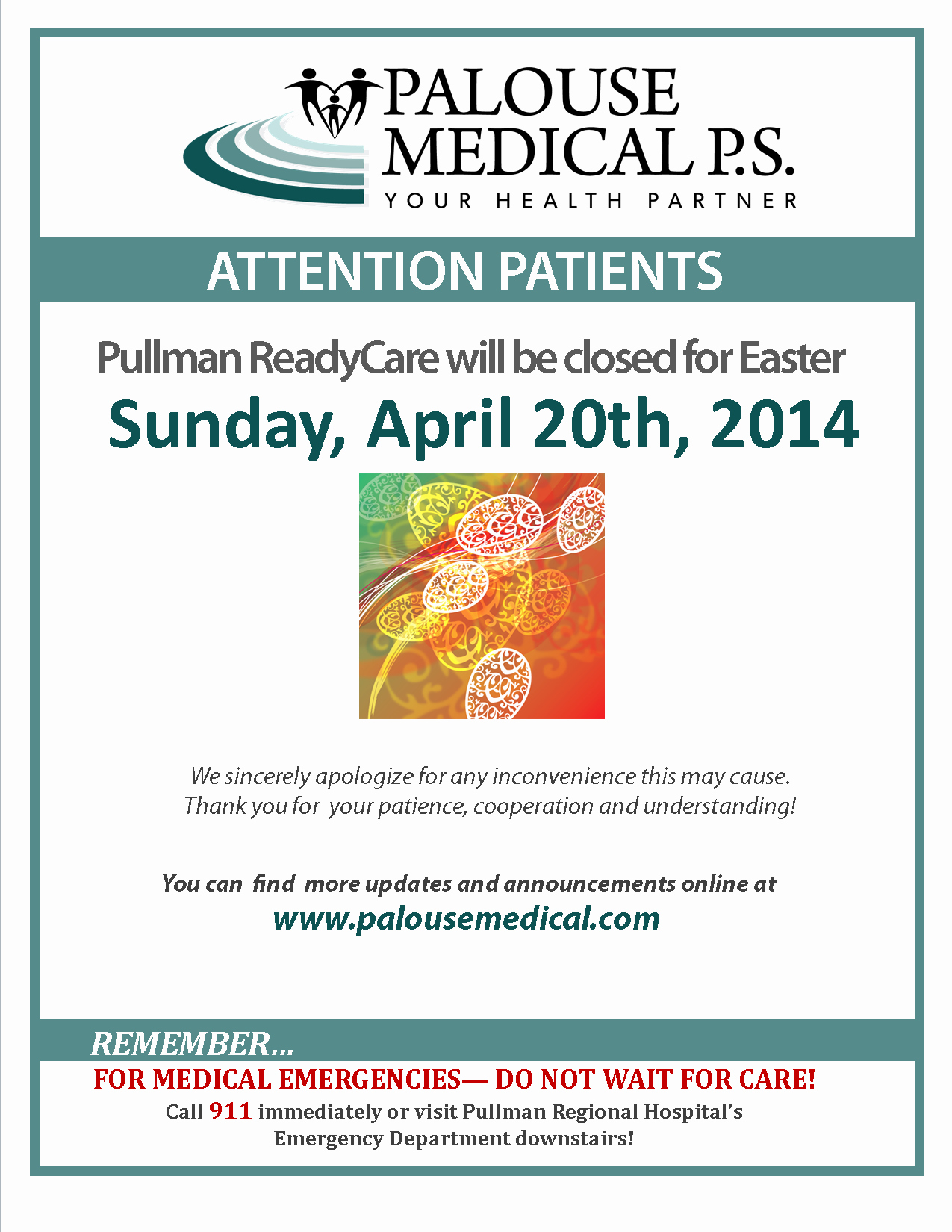 Office Closed for Holiday Sign Awesome 13 Of Easter Hours Template