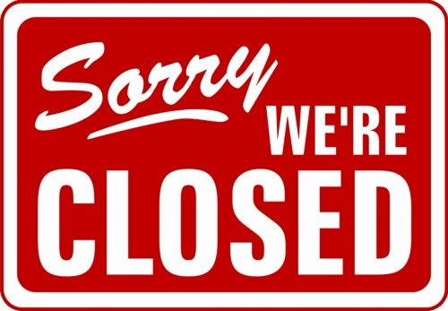 Office Closed for Holiday Sign Best Of Waterloo International Office Closed today From Noon