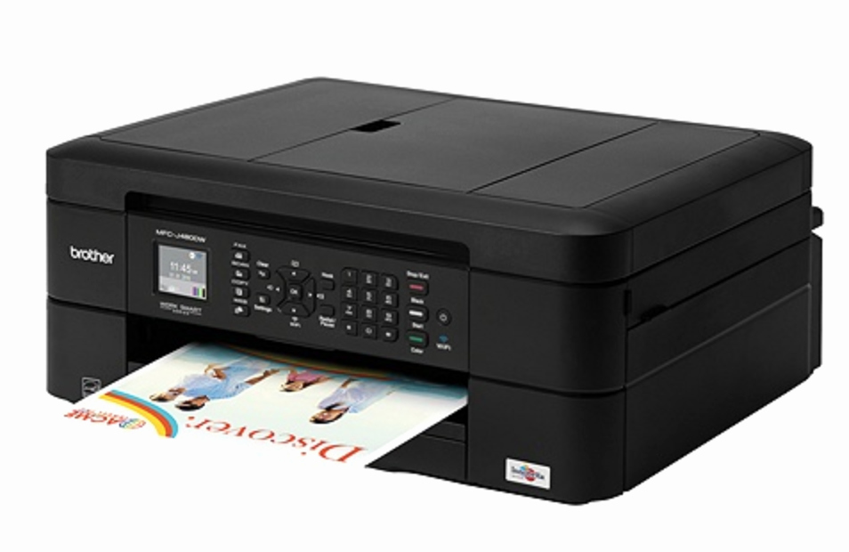 Office Depot Fax Cover Sheet Awesome Brother Wireless Color Inkjet All In E Printer Just $49