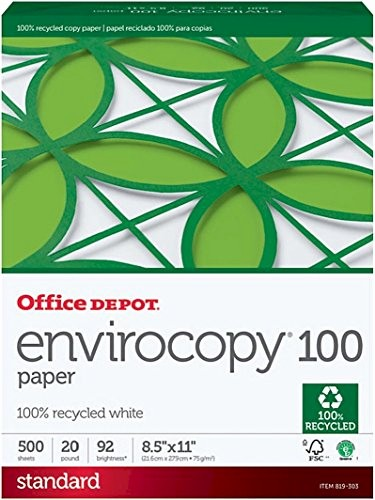 Office Depot Fax Cover Sheet Beautiful Fice Depot Recycled Envirocopy Copy Fax Laser