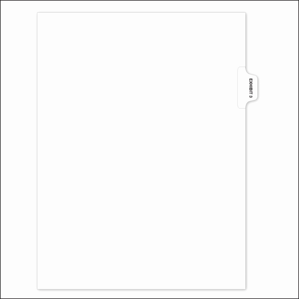 Office Depot Fax Cover Sheet Lovely Pre Printed Individual Exhibit Number Tabs 8 1 2 In X 11