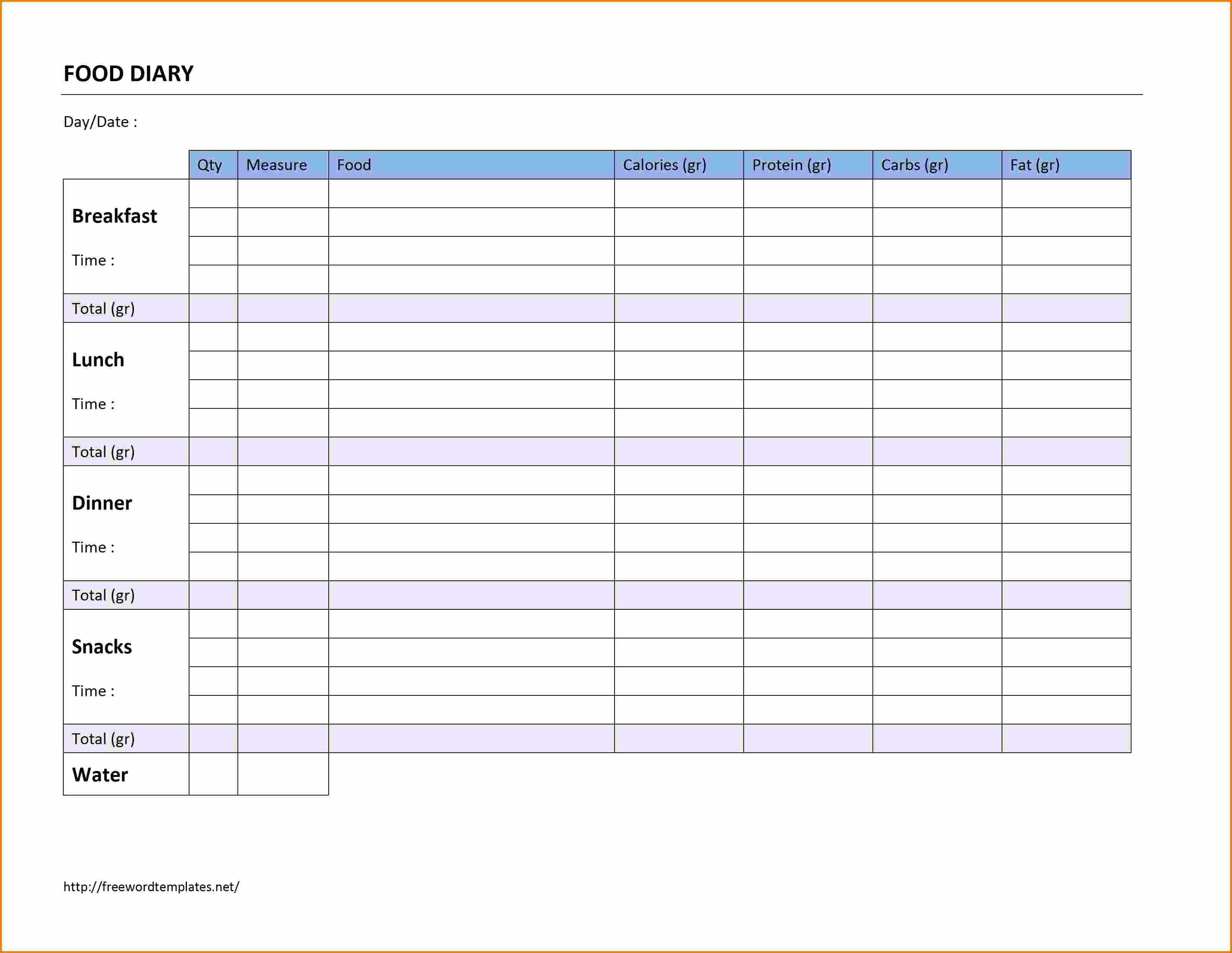 Office Lunch order form Template Unique 7 Food order form Template Word