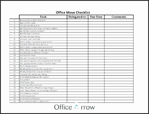 internal office move checklist template of excel fresh ideas munication plan unique relocation