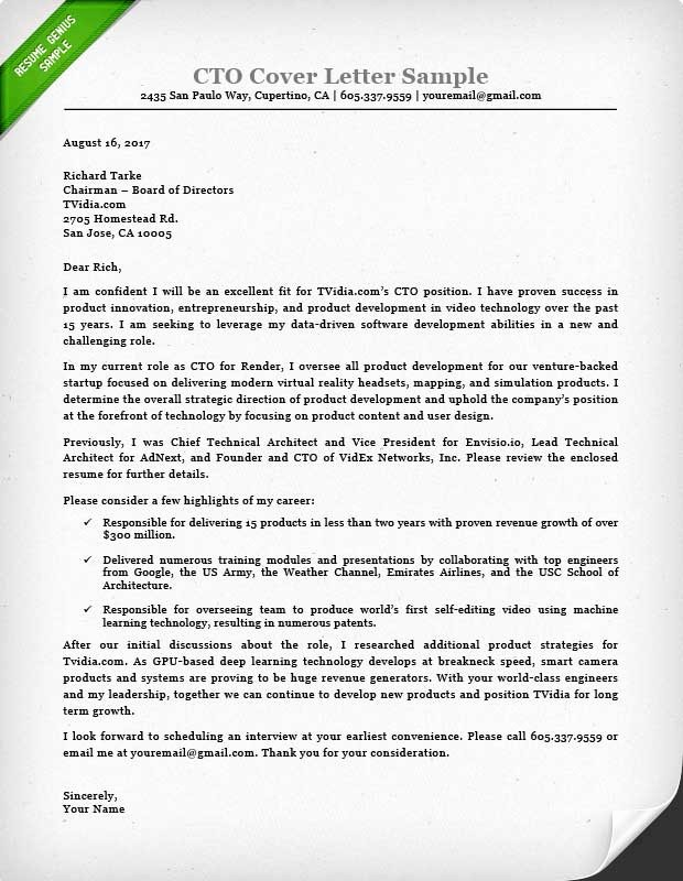 Office Of the President Letterhead Best Of Executive Cover Letter Examples Ceo Cio Cto