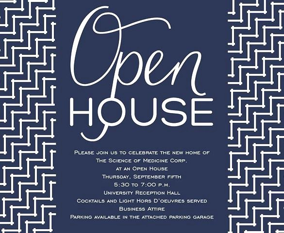 Office Open House Invitation Wording Best Of Business Open House Invitation Open House Invitation