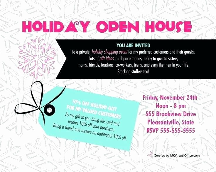 Office Open House Invitation Wording Lovely Holiday Open House Invitations Eat Drink Be Merry Holiday