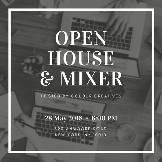 Office Open House Invitation Wording New Customize 498 Open House Invitation Templates Online Canva