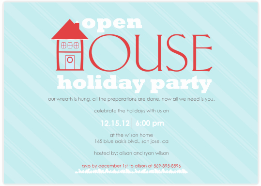 Office Open House Invitation Wording Unique Open House Party Invitation Wording