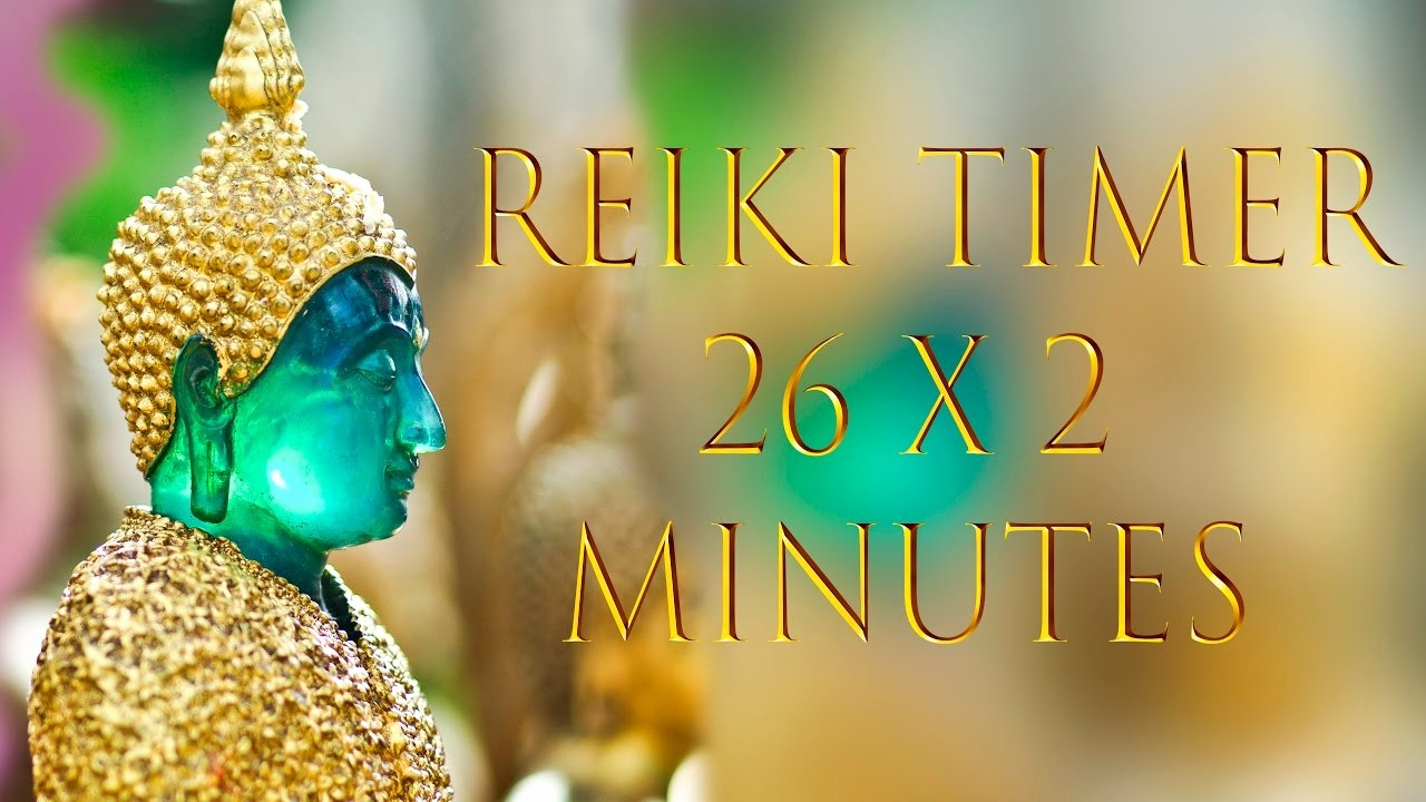One Minute Timer with Music Awesome Reiki Healing Music with 2 Minute Timer