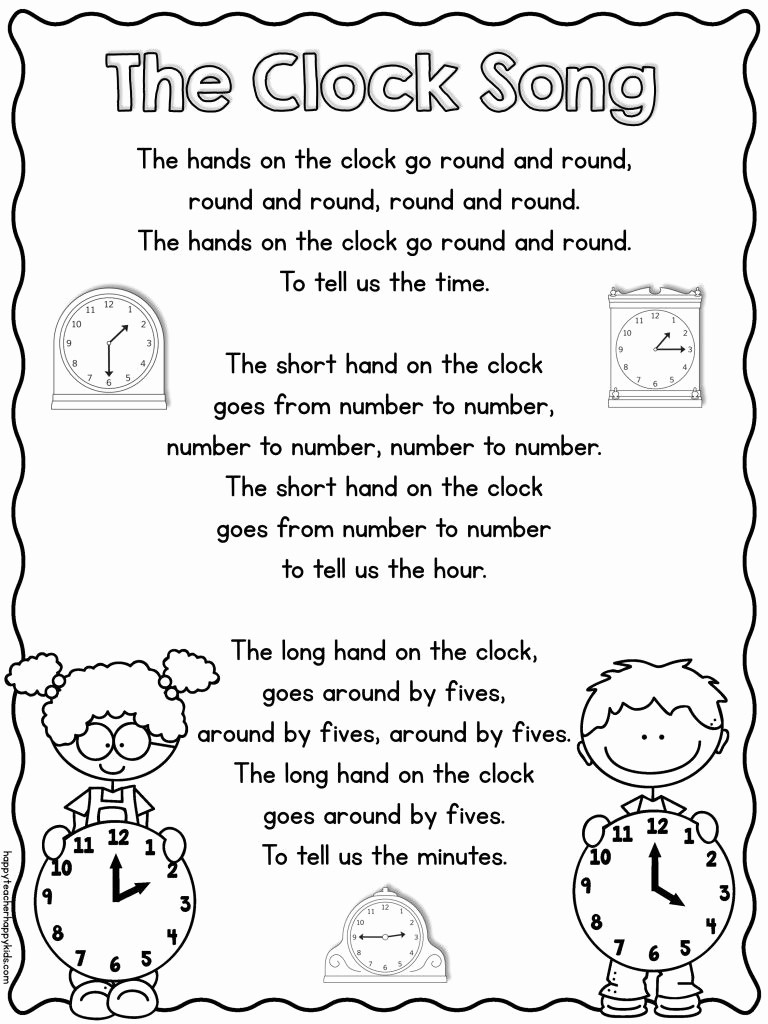 One Minute Timer with Music Inspirational Freebie Cute song for Learning to Tell Time