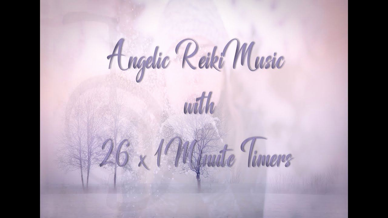 One Minute Timer with Music Inspirational Reiki Timer 1 Min Angelic Reiki Music with Bells Every 1