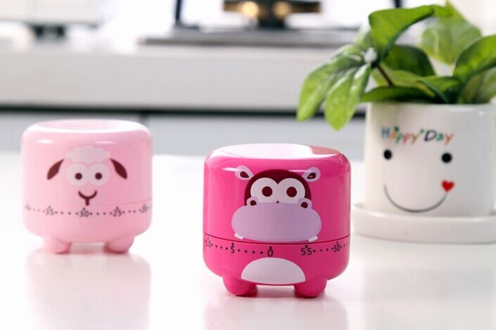 One Minute Timer with sound Beautiful 60 Minutes Count Down Timer Animal sound Imitating Digital