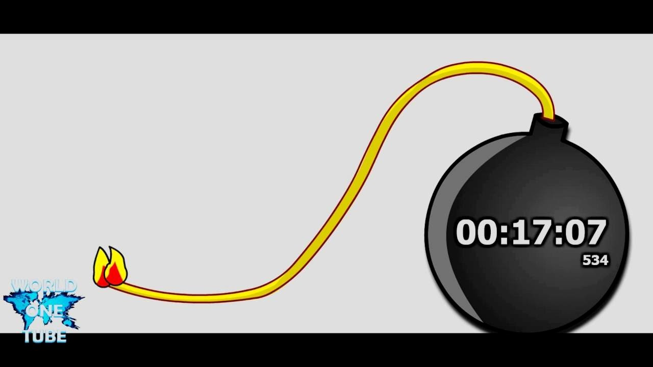 One Minute Timer with sound Fresh Timer 20 Minutes Countdown Bomb