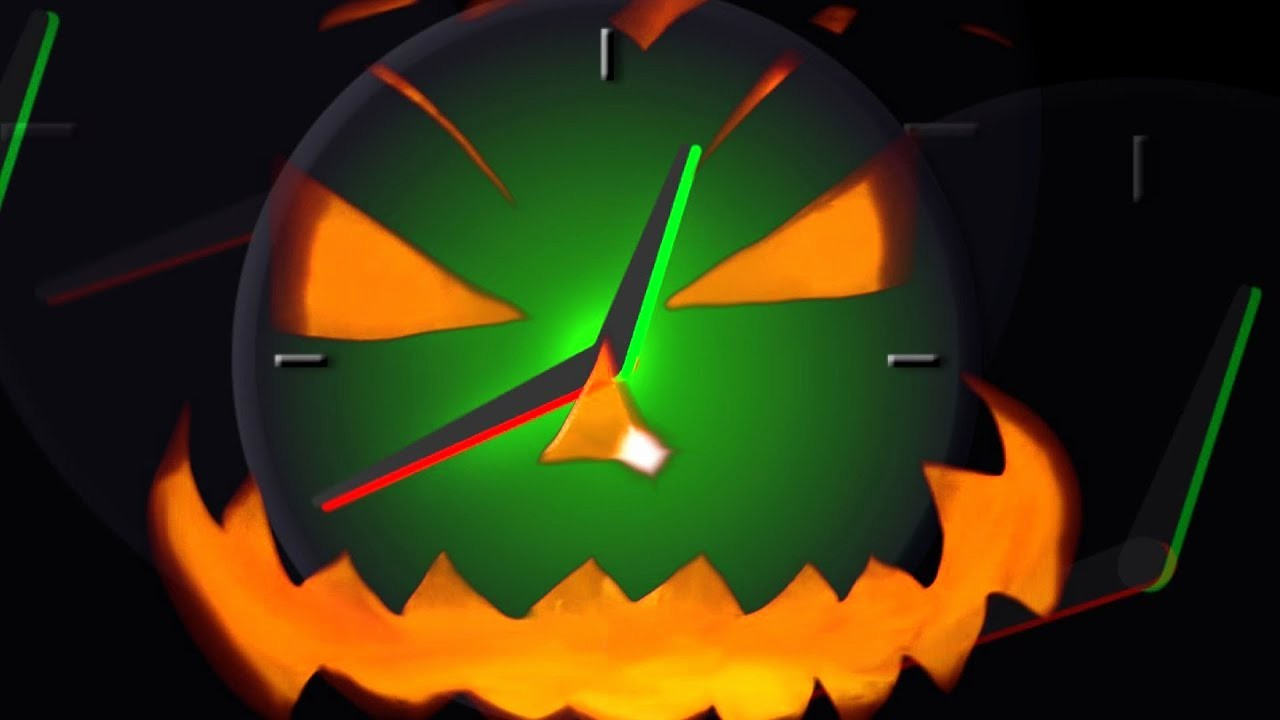 One Minute Timer with sound Lovely Halloween Countdown Timer 1 Minute Clock 60 Seconds with