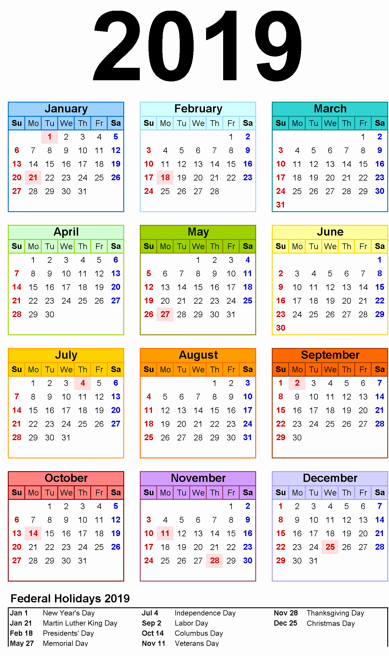 One Page 12 Month Calendar Awesome Free Yearly 12 Month Calendar E Page Template Printable